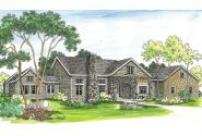 European House Plan - Brelsford 30-202 - Front Elevation