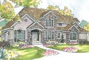 European House Plan - Stonehaven 30-465 - Front Elevation