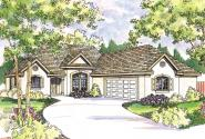 European House Plan - Whitmore 30-335 - Front Elevation
