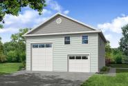 Traditional Garage Plan - Garage 20-279 - Front Exterior