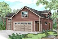 Garage Plan 20-022 - Front Elevation