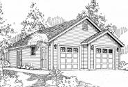 Garage Plan 20-040 - Front Elevation