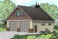 Garage Plan 20-046 - Front Elevation