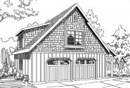 Garage Plan 20-060 - Front Elevation