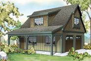 Garage Plan 20-087 - Front Elevation