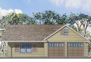 Garage Plan 20-116 - Front Elevation