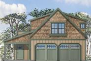 Garage Plan 20-119 - Front Elevation