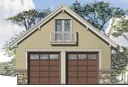 Garage Plan 20-143 - Front Elevation