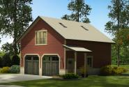 Garage Plan 20-147 - Front Elevation