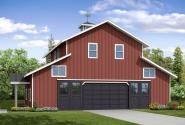 Garage Plan 20-183 - Front Elevation