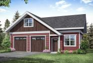 Garage Plan 20-260 - Front Elevation