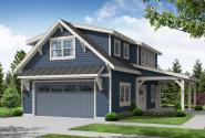 Garage Plan 20-291 - Front Elevation