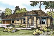 Mediterranean House Plan - Chatsworth 30-227 - Front Elevation