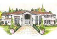 Mediterranean House Plan - Veracruz 11-118 - Front Elevation
