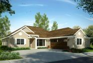 Mediterranean House Plan - Yaquina 31-025 - Front Elevation