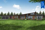 Modern Concept Plan - Syncline 31-219 - Front Elevation