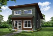 Contemporary House Plan - Birkland 31-186 - Front Elevation