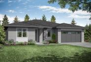 Prairie Home Plan - Chicory 31-169 - Front Exterior