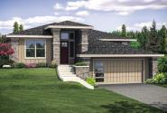 Prairie Home Plan - Autumn 31-114 - Front Exterior