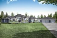 Prairie House Design Kenwood 31-136 - Front Exterior