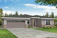 Prairie House Plan - Aspen Creek 31-198 - Front Elevation