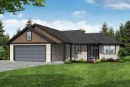 Ranch House Plan - Townsend 31-211 - Front Elevation