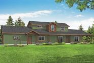 Ranch House Plan - Harebell 31-196 - Front Elevation