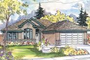 Ranch House Plan - Tyndale 30-337 - Front Elevation