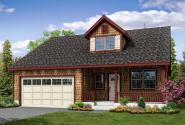 Shingle Style House Plan - McKenzie 31-056 - Front Elevation