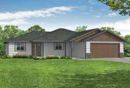 Ranch House Plan - Coho 31-197 - Front Elevation