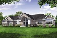 Traditional House Plan - French Glen 31-130 - Front Exterior