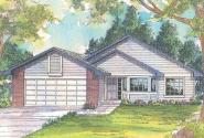 Traditional House Plan - Harney 10-223 - Front Elevation