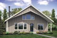 Traditional House Plan - Hideaway 31-082 - Front Exterior