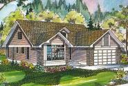 Traditional House Plan - Maderas 10-012 - Front Elevation