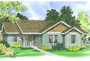 Traditional House Plan - Mattson 30-195 - Front Elevation