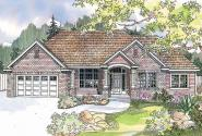 Traditional House Plan - Parkcrest 30-561 - Front Elevation
