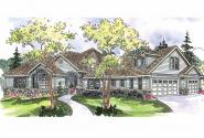 Traditional House Plan - Ramsbury 30-585 - Front Elevation