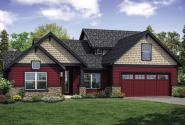 Traditional House Plan - Redwood 31-117 - Front Exterior