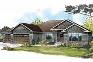Traditional House Plan - Springwood 30-772 - Front Elevation