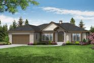 Traditional House Plan - Wileada 10-011 - Front Elevation