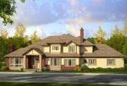 Traditional House Plan - Masonville 30-935 - Front Elevation