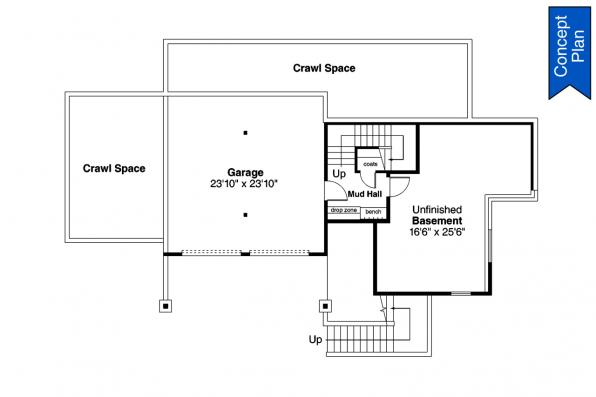 Concept Plan - Nehalem 31-233 - Lower Floor Plan