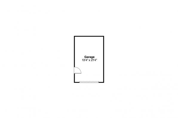 Cottage House Plan - Morrison 30-973 - Garage Floor Plan