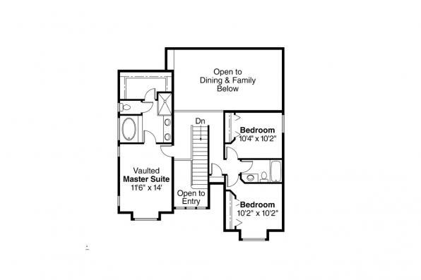 Country House Plan - Kaitlyn 30-338 - 2nd Floor Plan