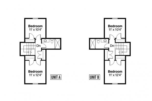 Duplex Plan - Donovan 60-007 - 2nd Floor Plan