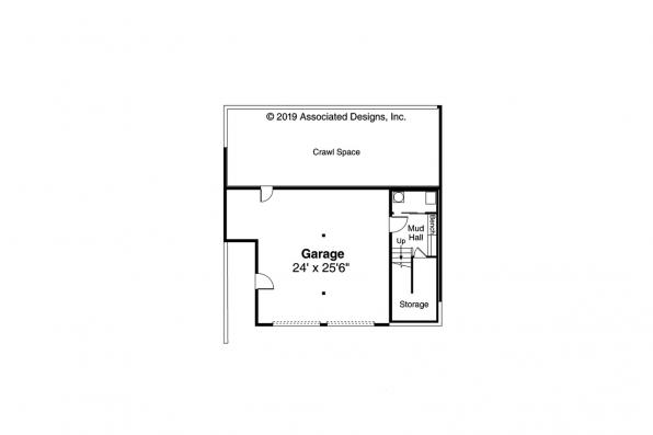 Contemporary House Plan  - Staghorn 31-168 - Second Floor