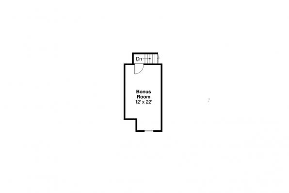 Traditional House Plan - Anderson 30-467 - 2nd Floor Plan