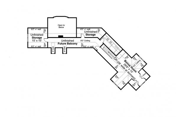 Two Story House Plan - Rain Song 31-245 - Second Floor