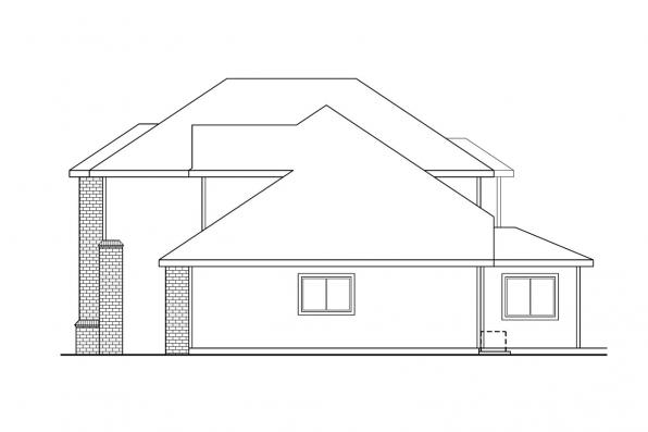 Classic House Plan - Arolee 30-142 - Right Elevation