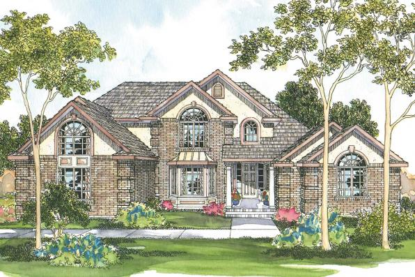 Contemporary House Plan - Centralia 30-164 - Front Elevation